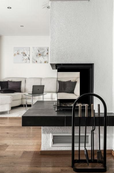 livingroom designed with taste